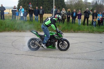 2016 Drachenfest mit 40 Jahre Kawasaki bei Motorrad-HOLZNER