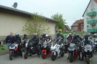 1. Warener Motorradausfahrt 2010