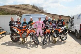 Unser Motocross Team 2012
