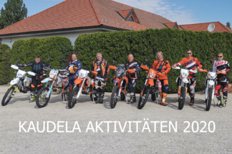KAUDELA AKTIVITÄTEN Unsere Aktivitäten für 2020