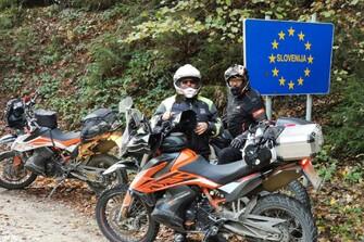 KAUDELA AKTIVITÄTEN  Herbstausfahrt  Slowenien auf Schotterpisten mit Mike & Hans