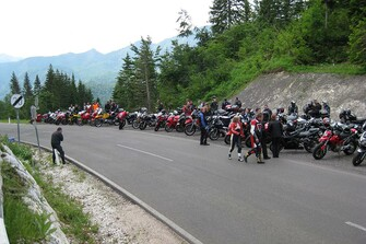 Motorradausfahrt 2008