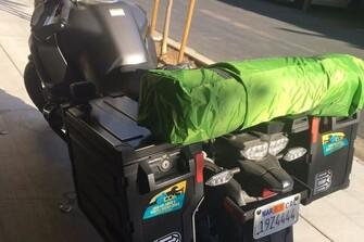 Solo Motorradtour in Kalifornien, dem Highway 1 entlang