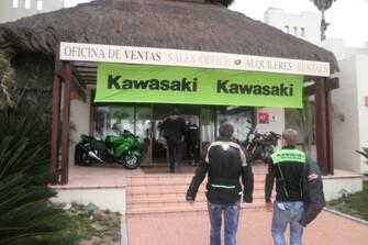 Kawasaki Testfahrt in Spanien 2012