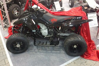 Triton Supermoto Quad Sondermodel Black Lizard Limited Edition