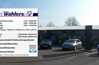 Das Unternehmen Team Wahlers - Auto-und Motorradhaus in Scheeßel
