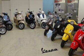 Vespa Ausstellung