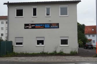 Unser neues Geschäft Weißenburgerstraße - Rohzustand