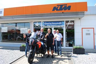 Besuch des Bürgermeisters Klaus Krützen Galerie vom 17.07.2017