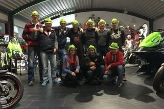Das Team und unser Herz für Kawasaki