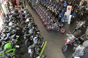 Unser Motorradshop