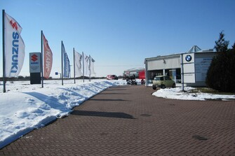 Saisonstart 2013 im verschneiten März