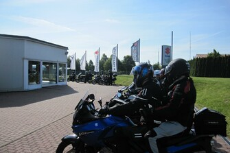 Motorradausfahrt 2019 zum Besucherbergwerk Marie Louise Stolln