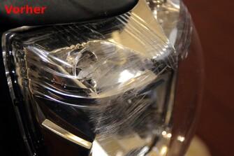 Reparatur Klarglasscheinwerfer