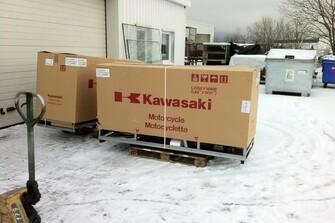 Die ersten Kawas 02/2012