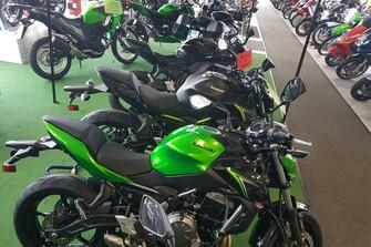 Kawasaki Modelle 2018