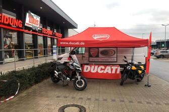 Ducati Bochum unterwegs.... Louis Store Essen
