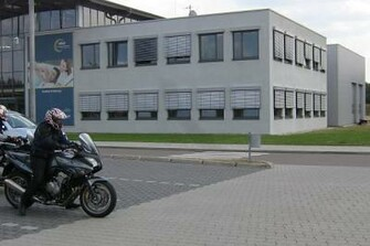 Fahrsicherheittraining in Linthe 2008