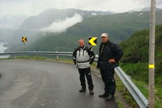 Fahrt nach Norwegen Juli 2012