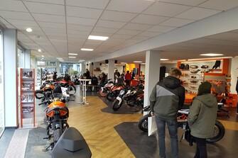 Neueröffnung KTM Coburg Galerie vom 07.12.2019
