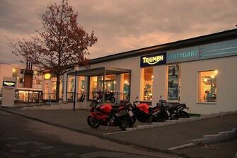 SBF Triumph Flagshipstore Stuttgart
