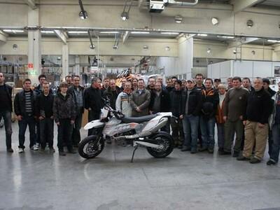 KTM Wimmer bei KTM Werksbesichtigung anzeigen