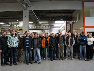 KTM Werksbesichtugung 22.02.2013 anzeigen