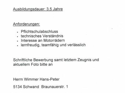 LEHRLING KFZ TECHNIKER anzeigen