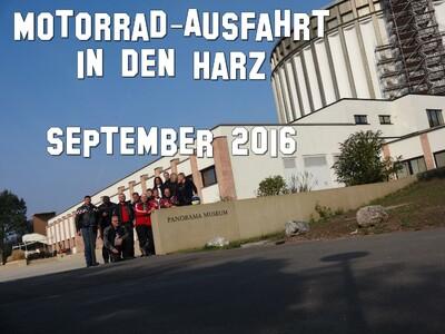 Ausfahrt in den Harz - September 2016 anzeigen