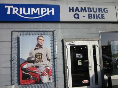 Triumph-Hamburg, Q-Bike technik GmbH anzeigen