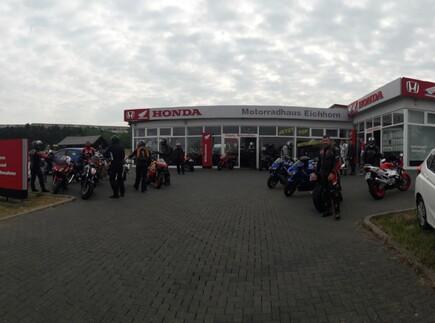 Motorradausfahrt 2018