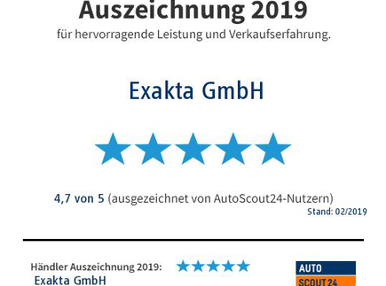 Auszeichnung 2019
