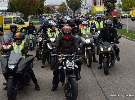 Motorrad Benefizrundfahrt