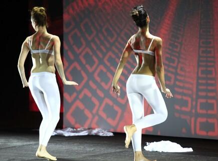 Ducati Präsentation Mailand - Girls dancing