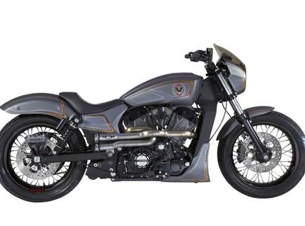 "Victory ""Combustion"" Custombike Zach Ness"