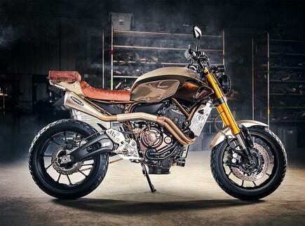 Yamaha MT-07 Umbau von Origin8or Cycles