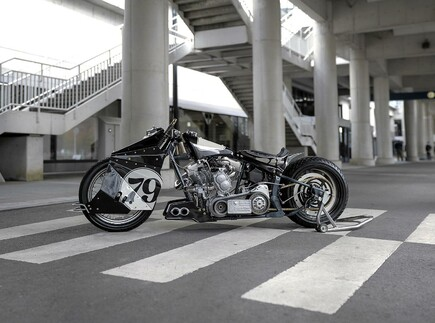 Monster Harley Davidson Softail Umbau von Beautiful Machines
