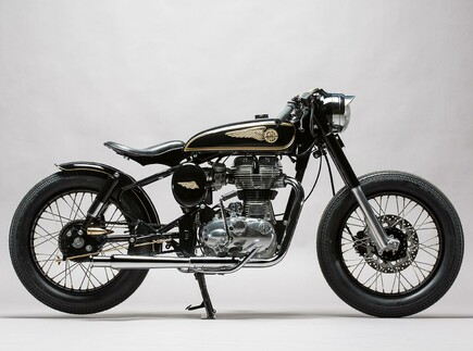 Brass Rajah Royal Enfield 350 von Mid Life Cycles
