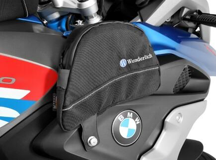 Tank-Seitentaschen für die GS von Wunderlich