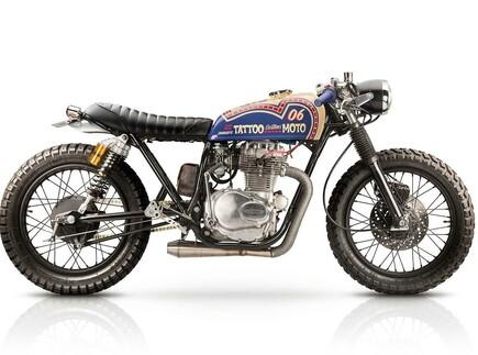 '74 Honda CB360 Umbau von Tattoo Custom's