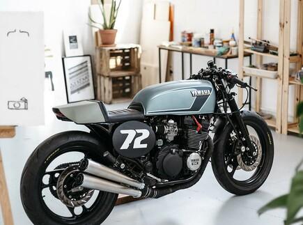 Yamaha XJ600 Umbau von Foundry Motorcycles