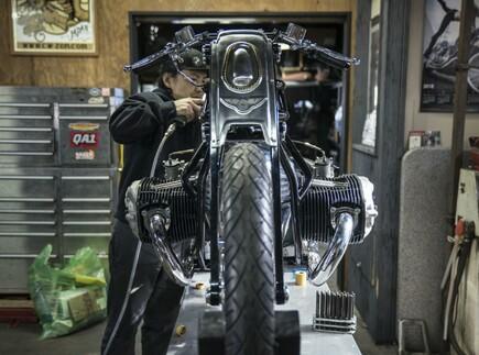 Neuer BMW Boxermotor in Custom Bike präsentiert