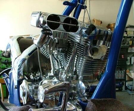 Aufbau Harley Iron Lady