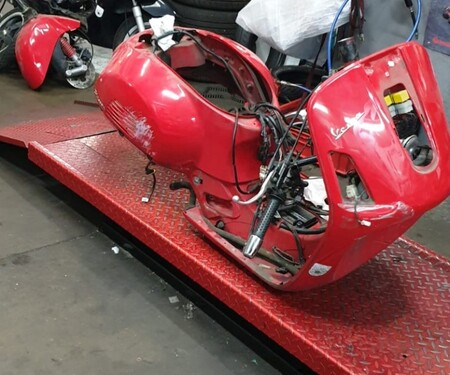 Vespa GTS Neuaufbau (In Progress)