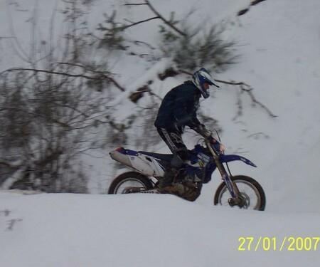 Schneefräsen im Januar 2007