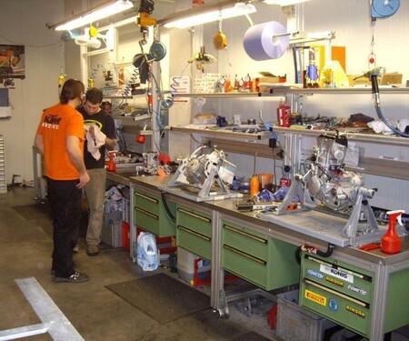 """Besuch in """"KTM-Hausen"""" - Werksbesichtigu"""