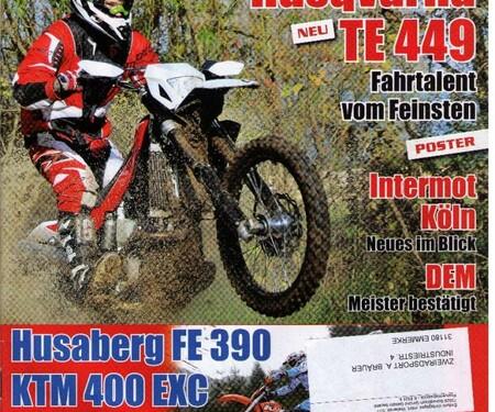 """Test """"ENDURO"""" Bräuer KTM 690 Adventure"""