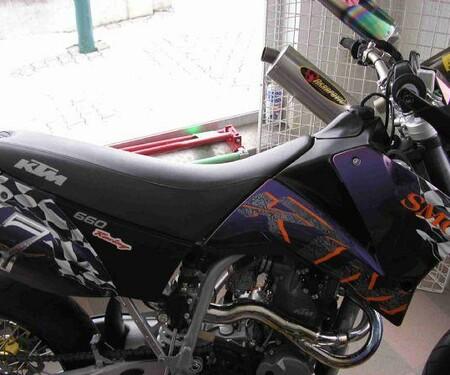 KTM 660 SMC - Sonderlackierung