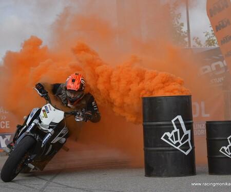 Stuntshow Rok Bagoros - Maximarkt Wels