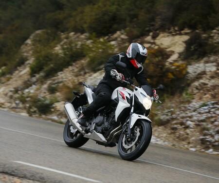 Honda CB500F Test in Barcelona
